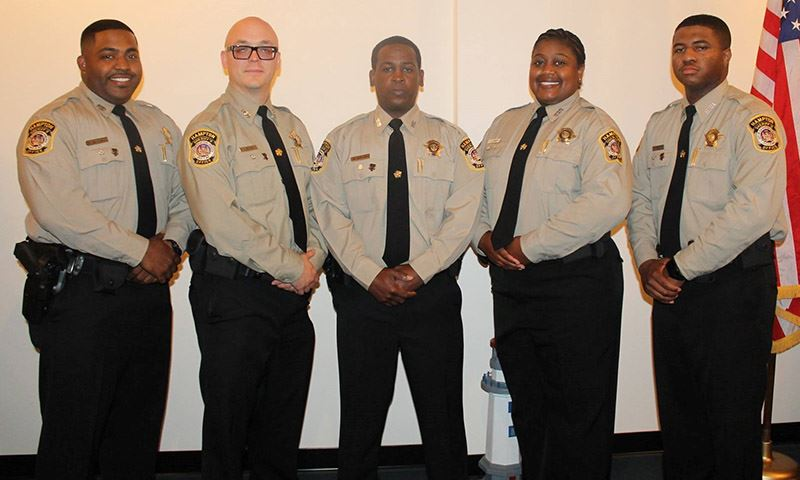 Hampton Deputies Graduate from the Academy Class 2017