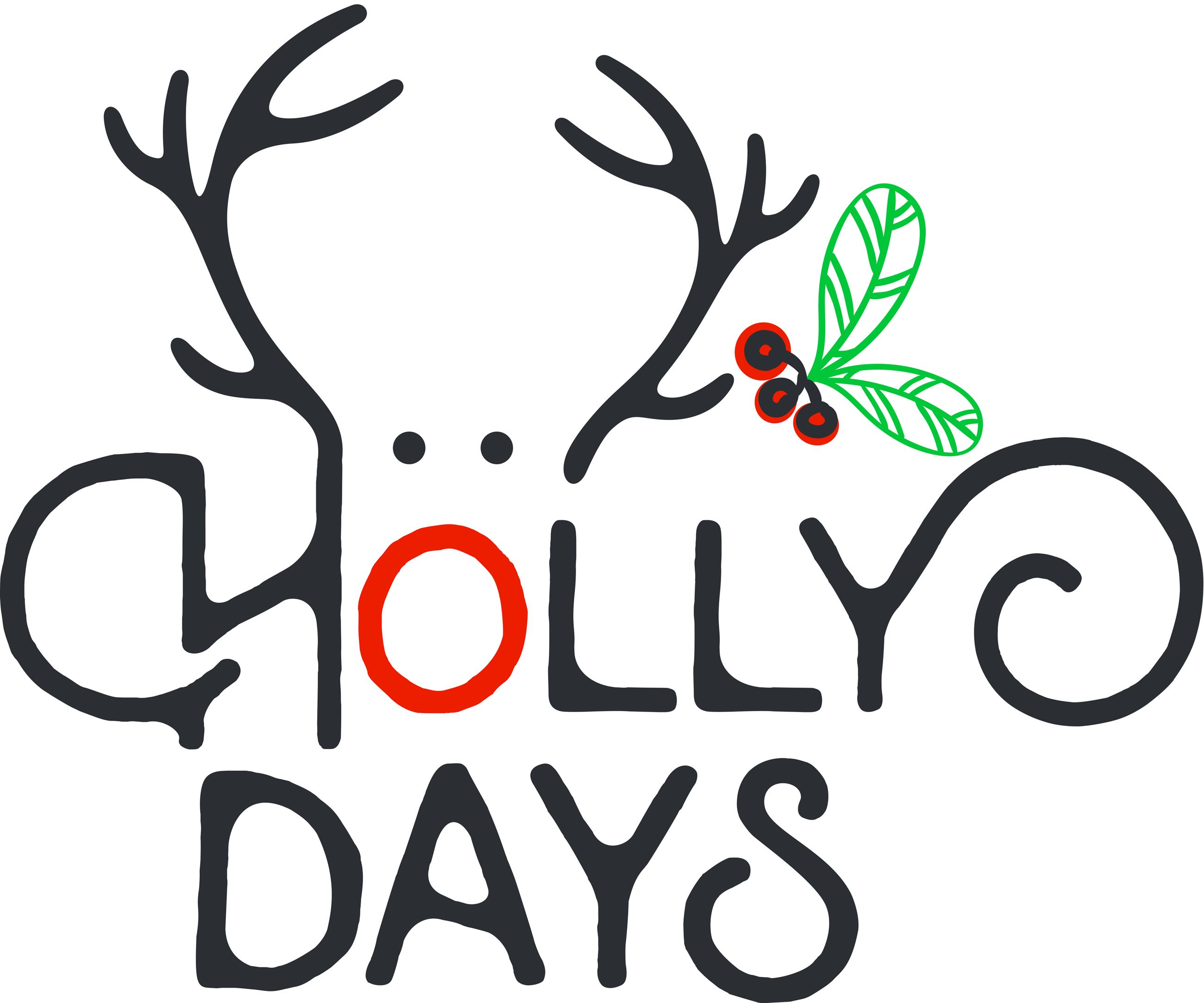 Hampton Holly Days Logo