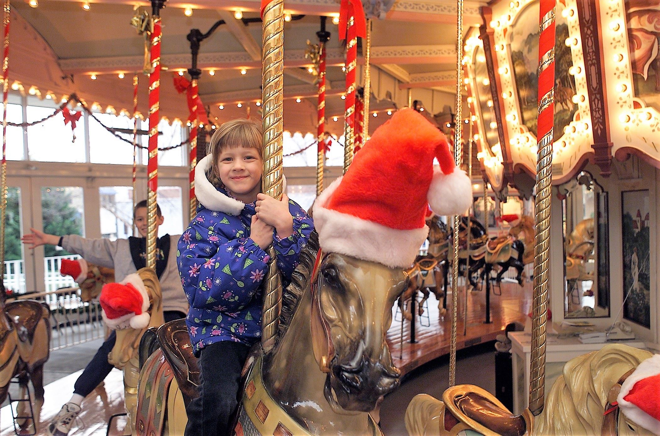 ENHANCED Hampton Carousel Holiday 1