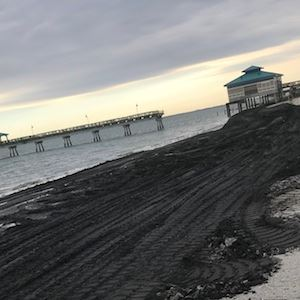 new beach replenishment