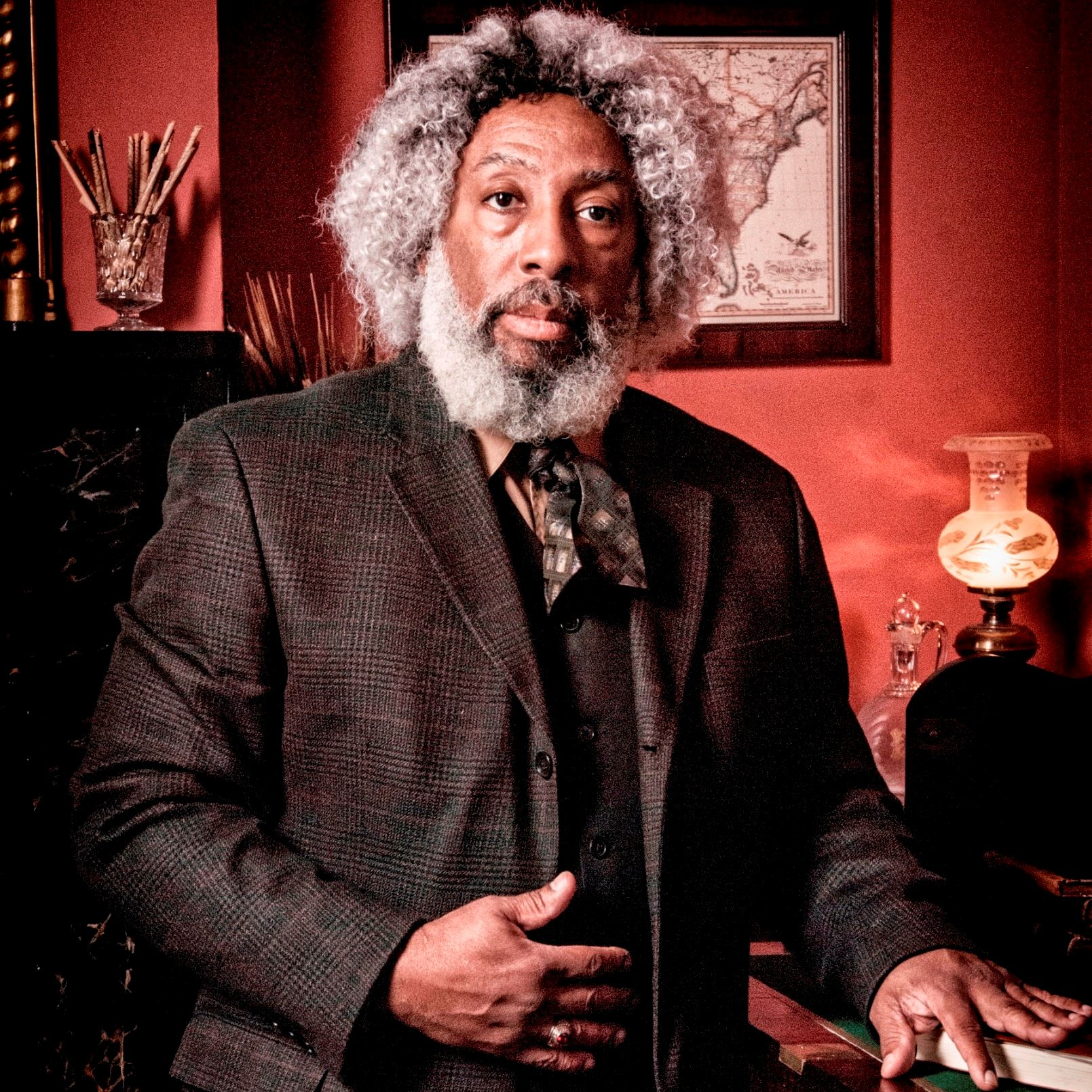 SQUARE Nathan Richardson as Frederick Douglass 1