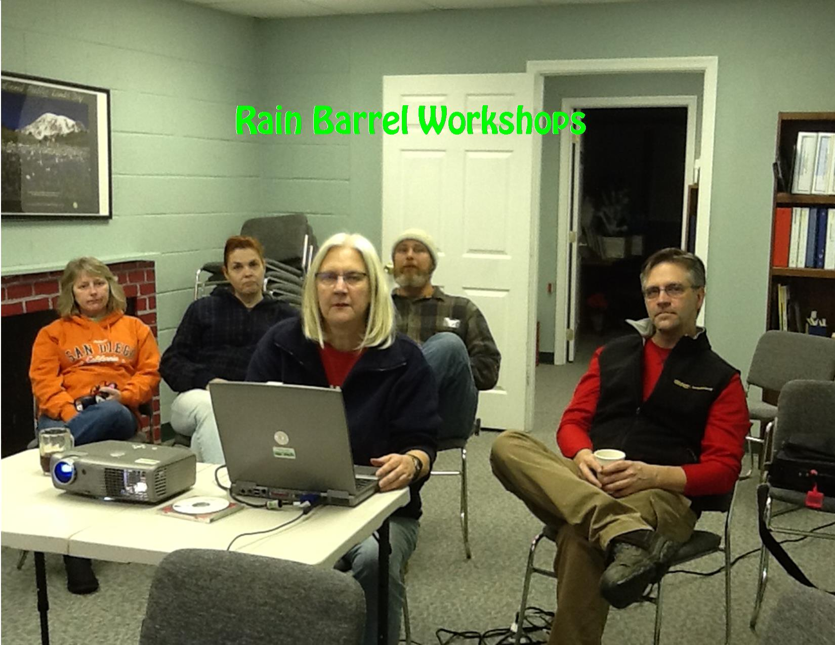 2014 Rain Barrel Workshops