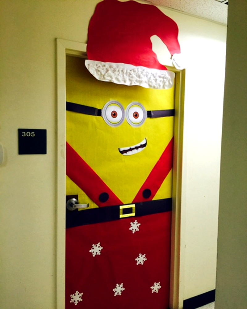 Healthy Families - Pink Team - Minion Door
